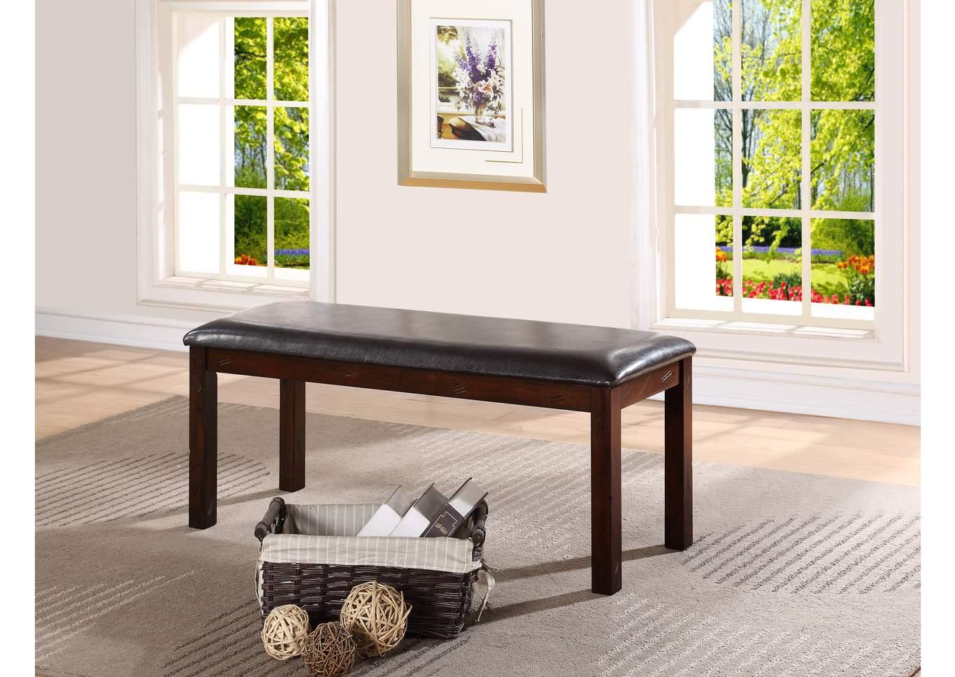 Affordable Furniture Houston Quinn Bench