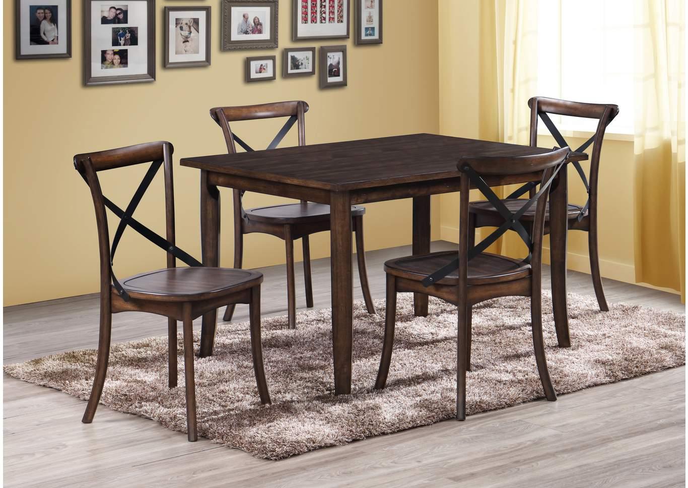National Furniture Outlet Westwego La Farris Rectangular Dining Table