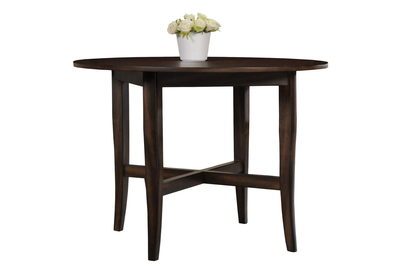 Farris Round Dining Table W/4 Side Chairs,Crown Mark