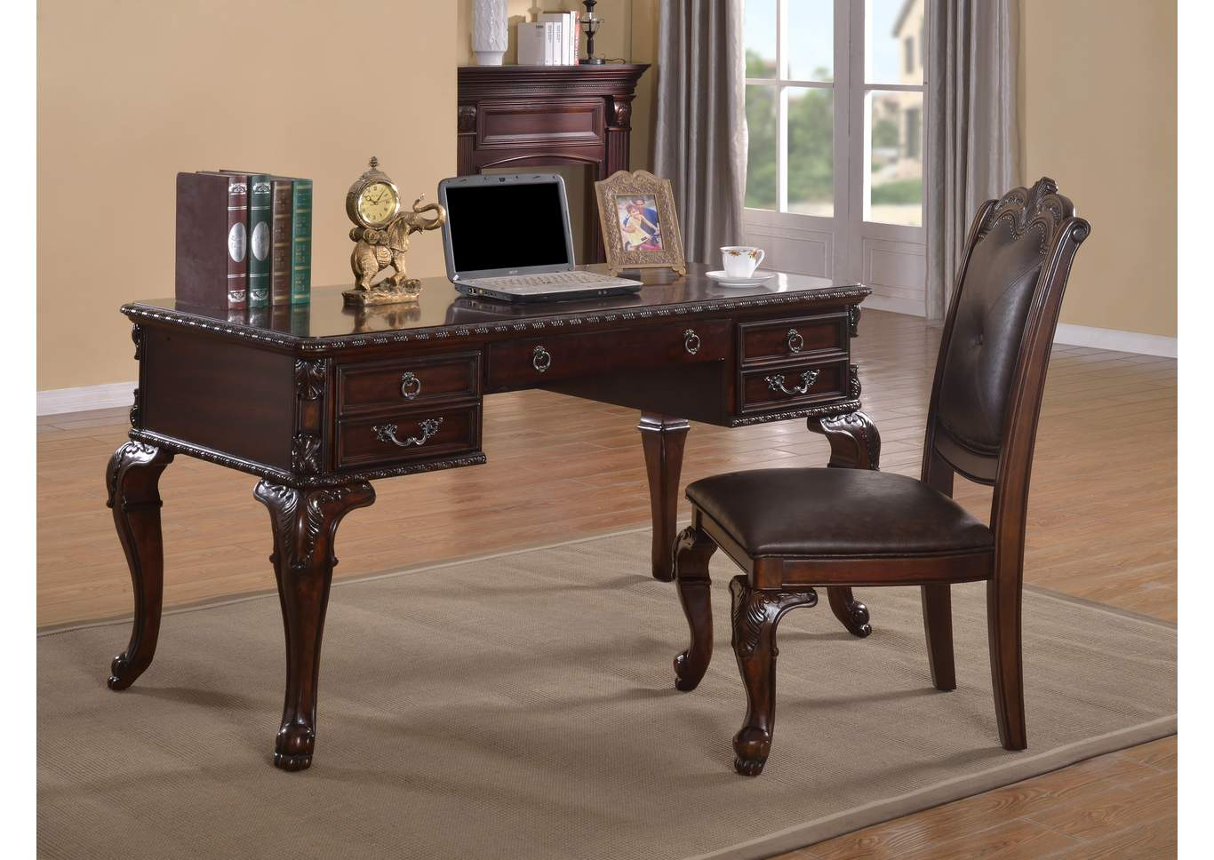 Keira Home Office Desk,Crown Mark