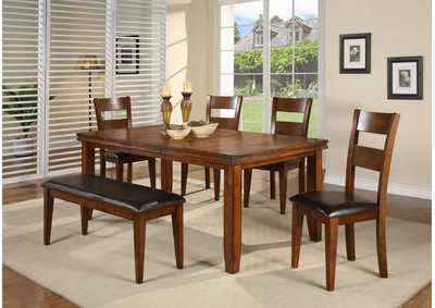 Figaro Rectangular Dining Room Table