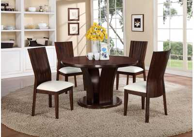 Daria White Side Chair (Set of 2)