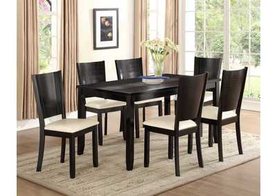 Hanson Dining Table w/ 6 Side Chairs