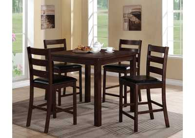 Quinn Counter Height Table w/4 Side Chairs