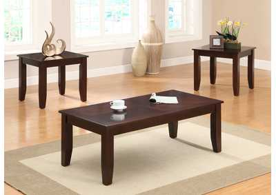 Vincent Occasional Table Set (Cocktail & 2 Ends)
