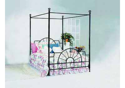 Foundry Queen Bed Canopy Set,Crown Mark