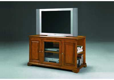Harris Oak Entertainment Console w/ Storage
