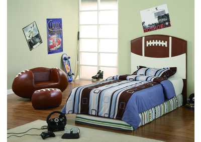 Football Twin Headboard