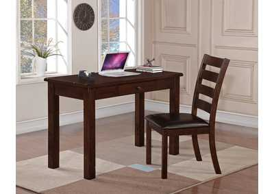 Quinn Desk & Chair,Crown Mark