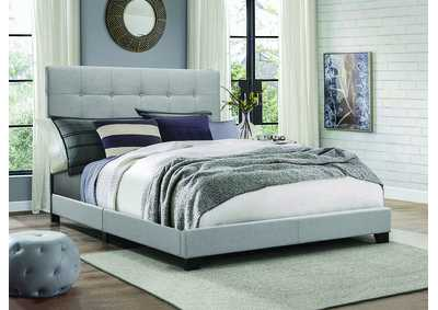 Jesper Black Upholstered Full Bed