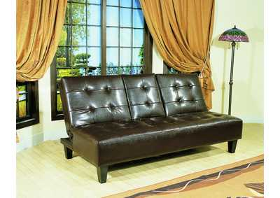 Bennett Espresso Adjustable Sofa