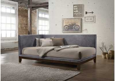Pax Grey Upholstered Daybed