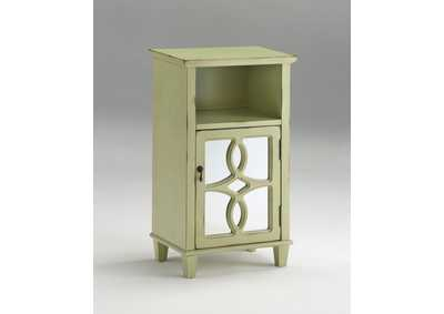 Maisie Moss Green Cabinet,Crown Mark