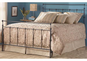 Winslow Mahogany Gold Twin Bed
