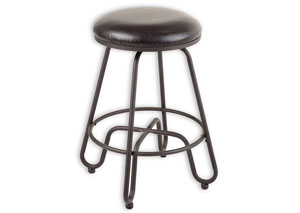 Denver Brown 30-Inch Barstool