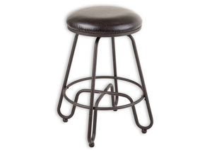 Denver Brown 26-Inch Barstool