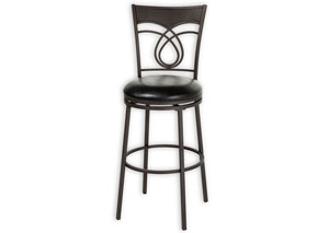 Madison Black 30-Inch Barstool