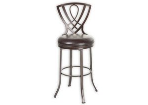 Lincoln Brown 26-Inch Barstool