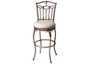 Concord Brown 30-Inch Barstool