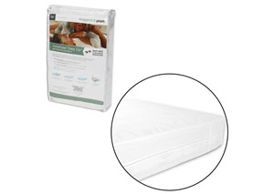 InvisiCase White King Mattress Encasement