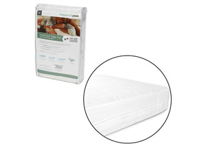 InvisiCase White Split King Mattress Encasement