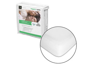 Platinum White Split King Mattress Protector