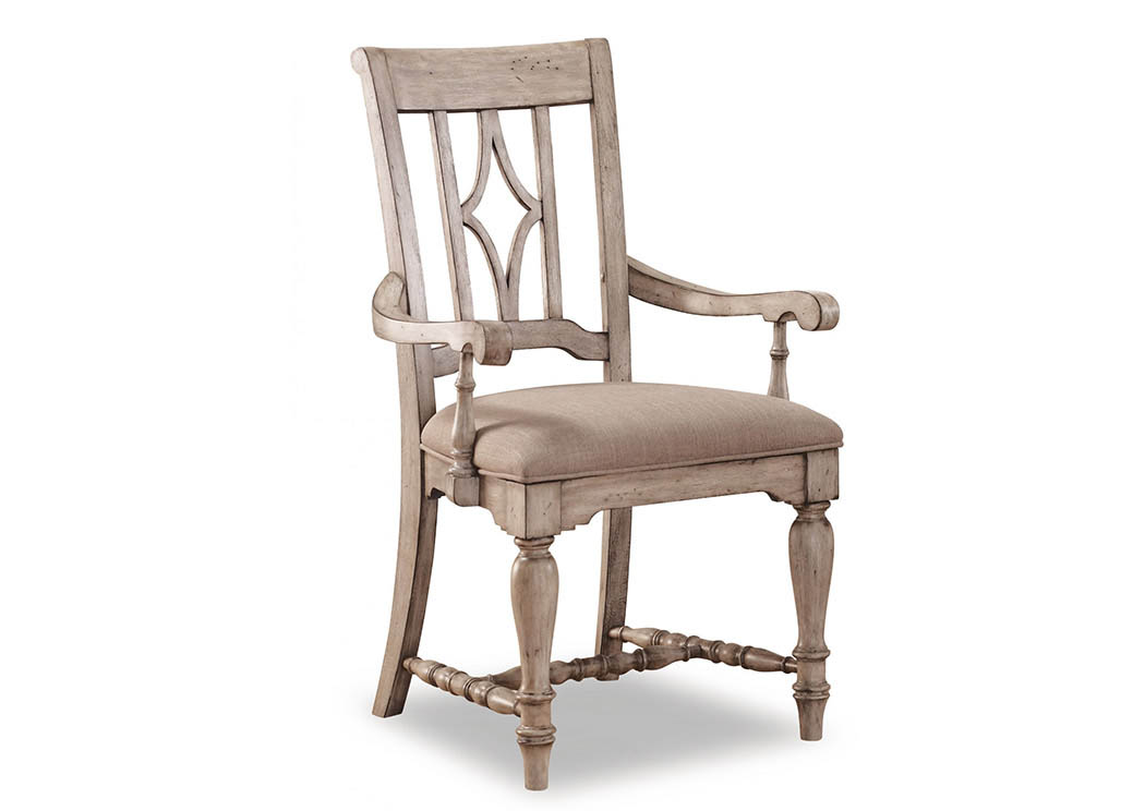 Plymouth Upholstered Arm Dining Chair,Flexsteel