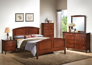 Whiskey Twin Panel Bed