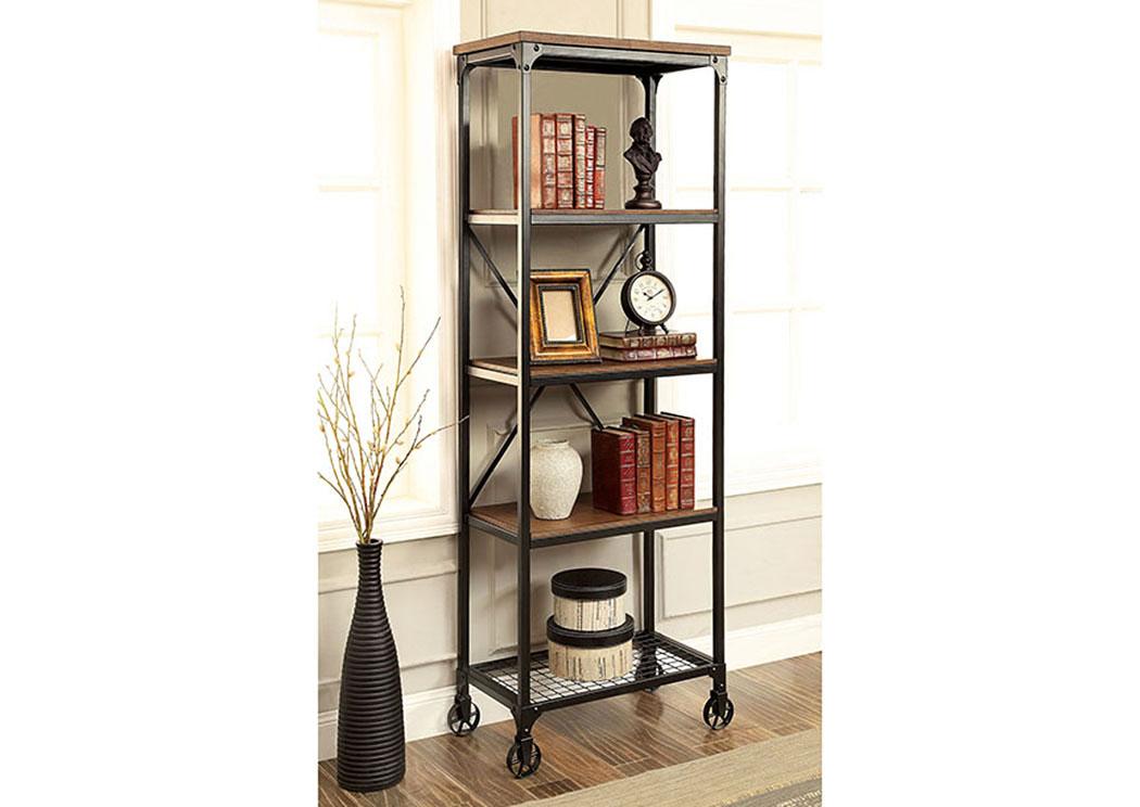 Furniture ville bronx ny ventura ll oak small bookshelf for Furniture ville