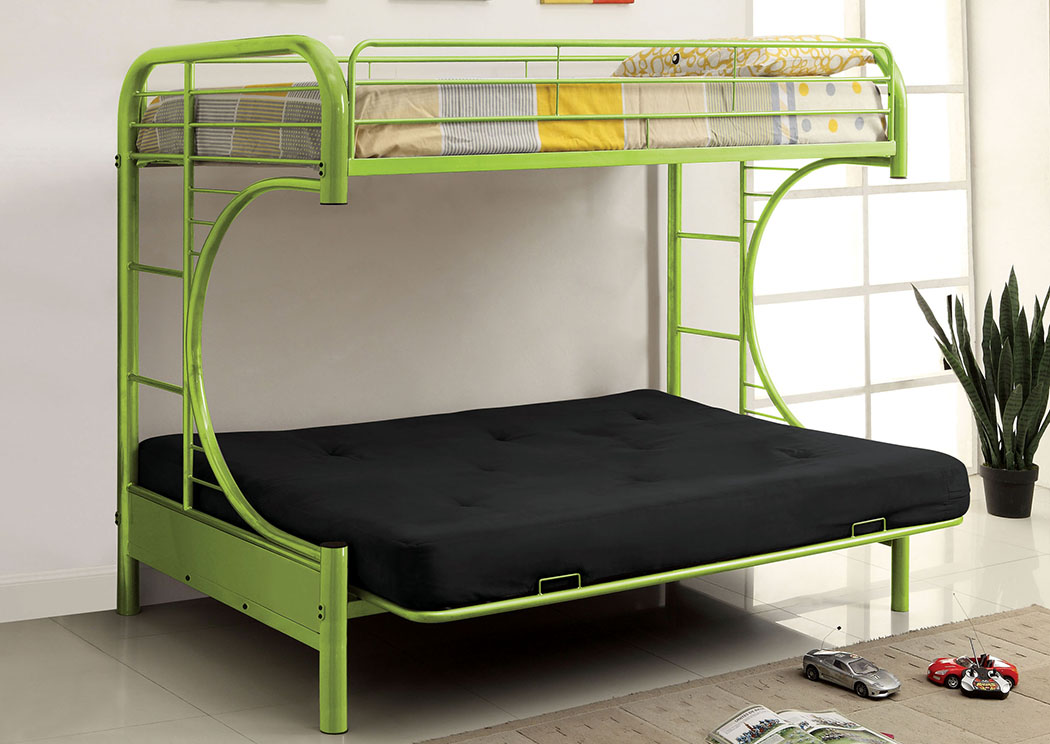 Best buy furniture and mattress rainbow green twin metal for Furniture of america assembly instructions