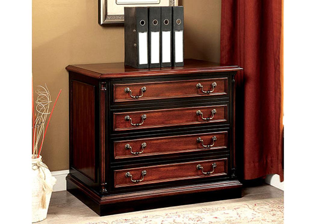 Home > Furniture > Furniture of America > Office > Strandburg Cherry