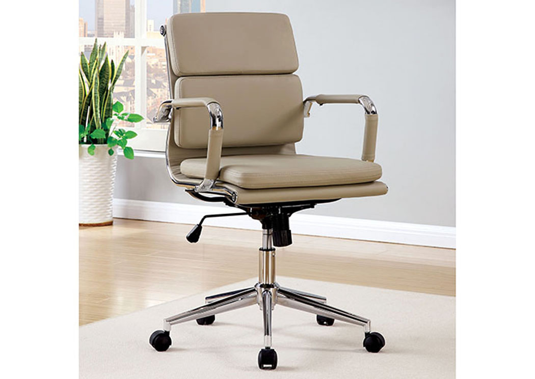 Quality Furniture WA Mercedes Mocha Low Back Office Chair