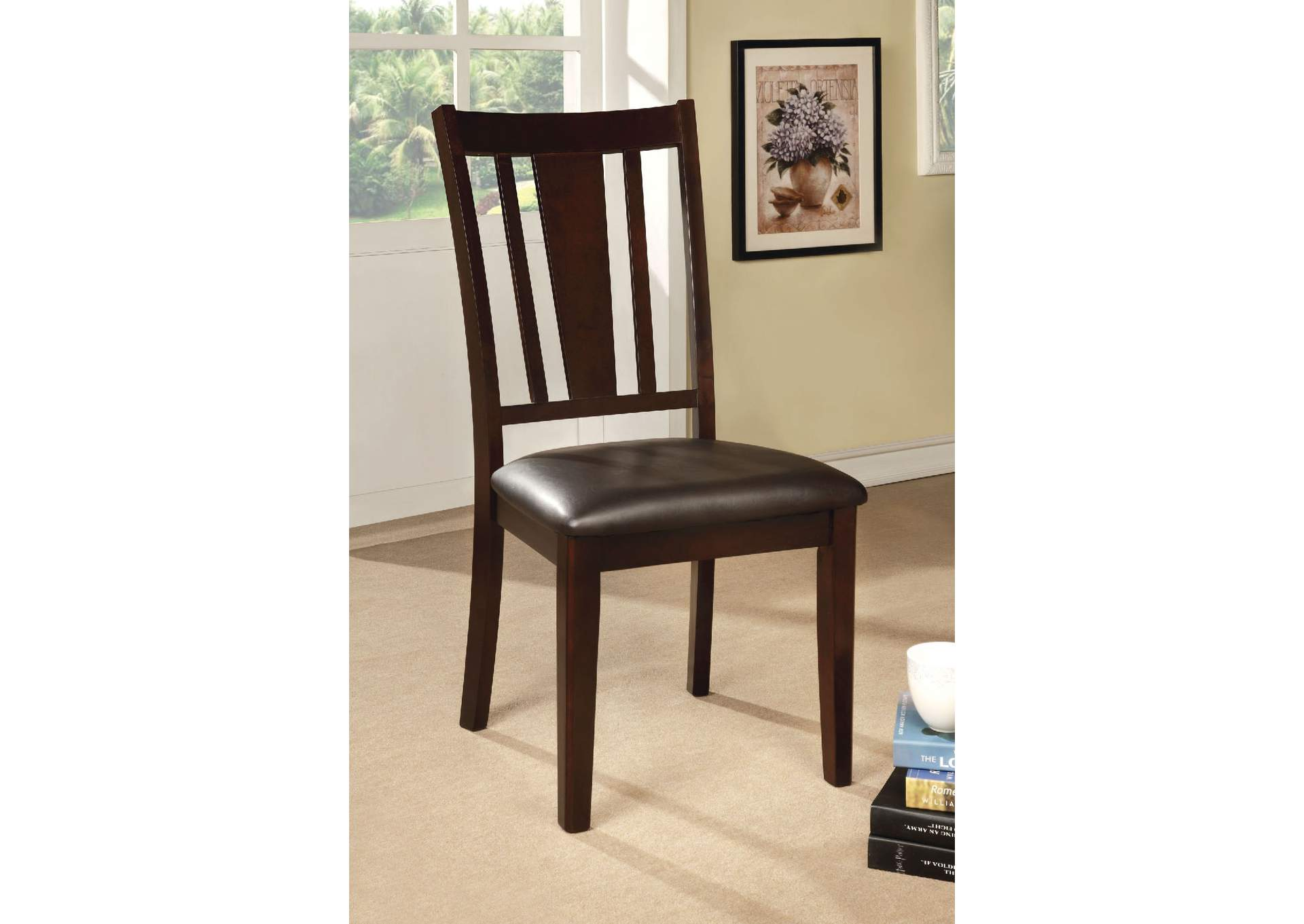 Best Buy Furniture And Mattress Bridgette I Espresso Side Chair Set Of 2