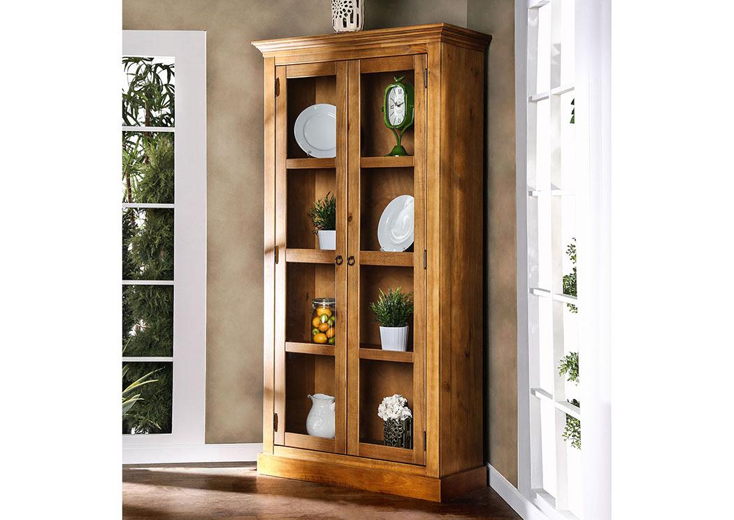 Dining Room Olinda Oak Display Cabinet