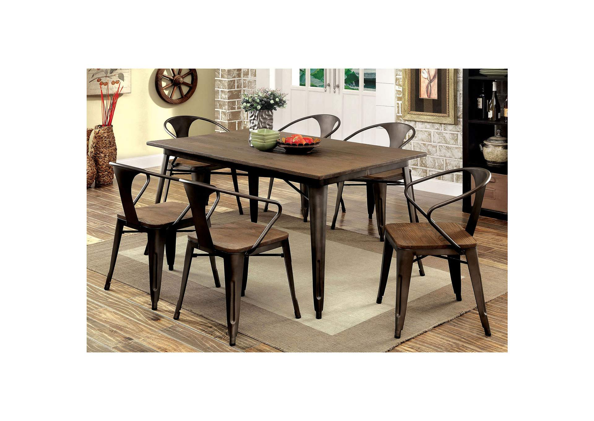 Industrial Kitchen amp Dining Tables Youll Love  Wayfair