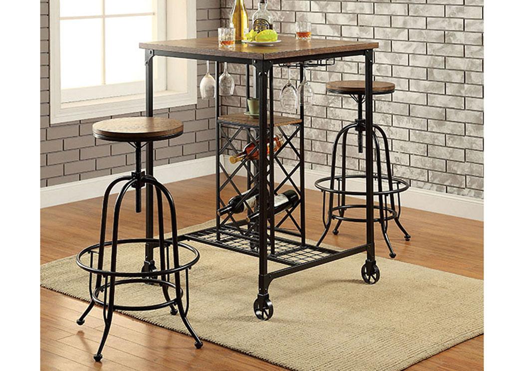 silvia medium oak bar table w2 bar of america