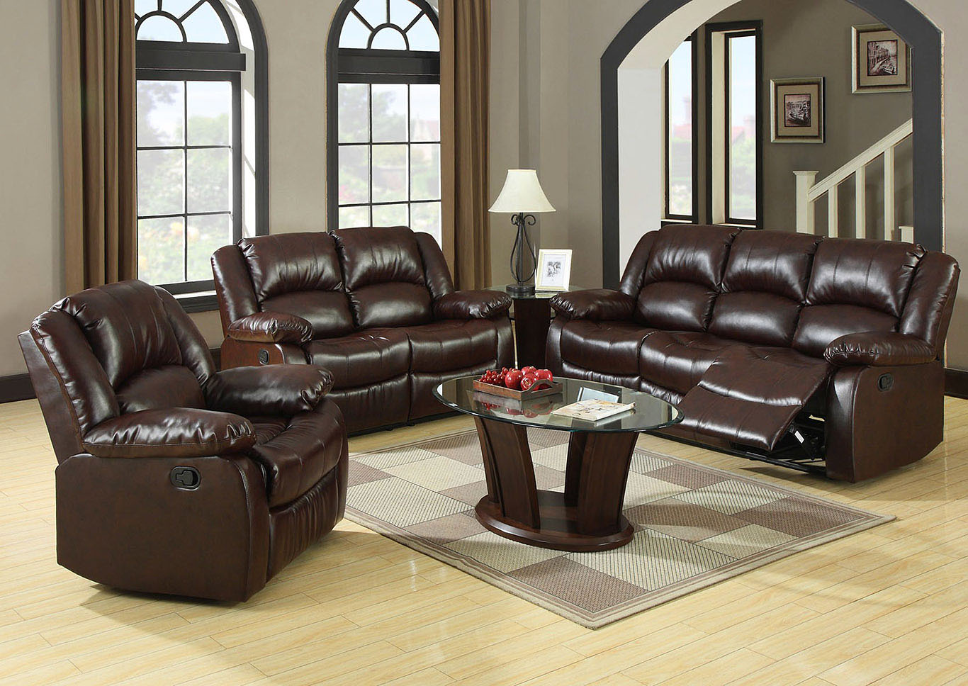 iteminformation living nobg loveseat homelegance with console recliners recliner double room glider center