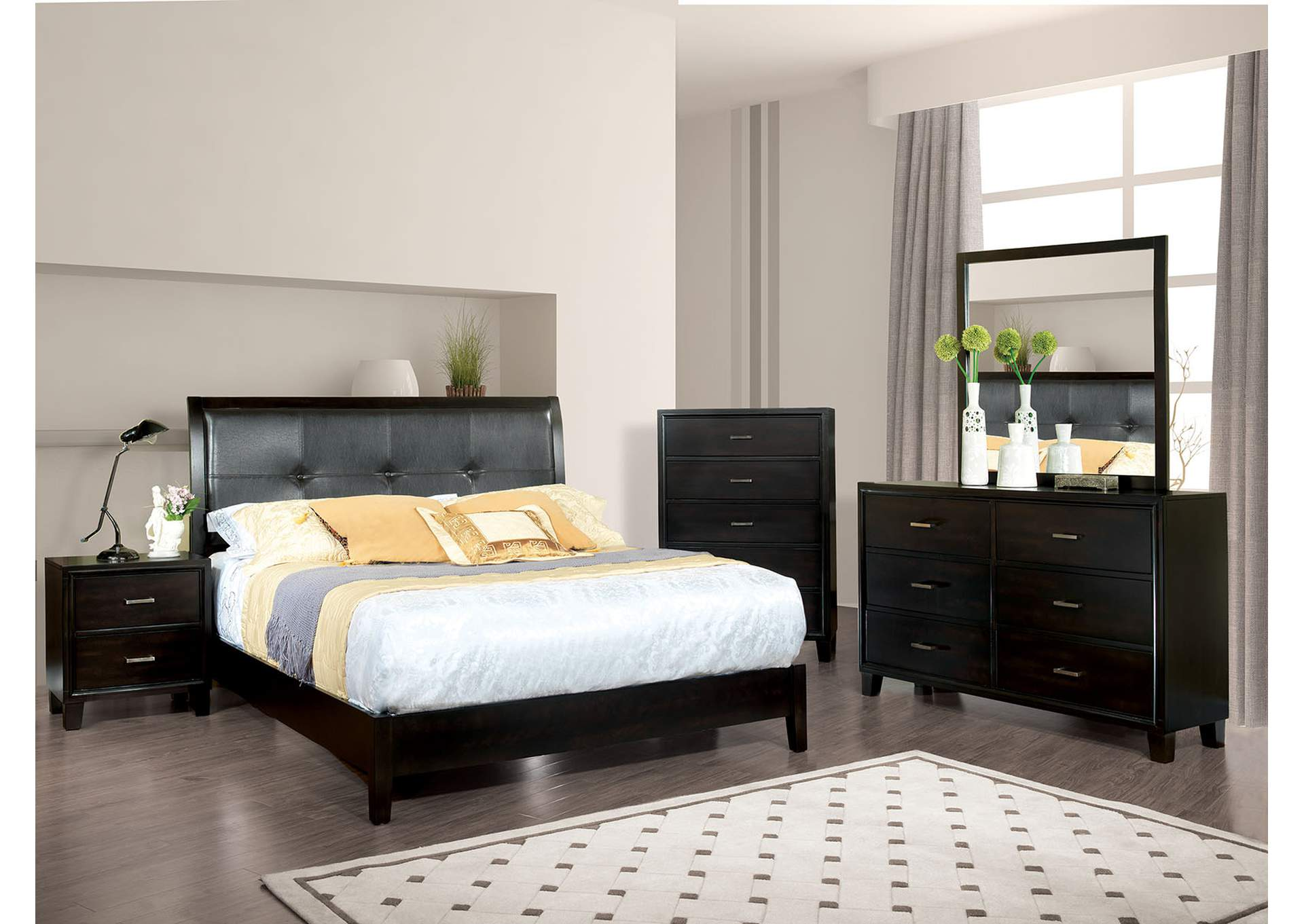Home Furniture Furniture Of America Bedrooms Gerico II