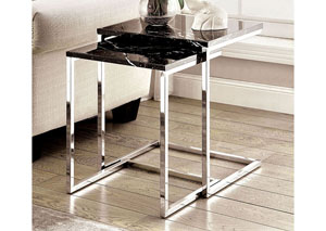 Sue Nesting Table w/Black Faux Marble