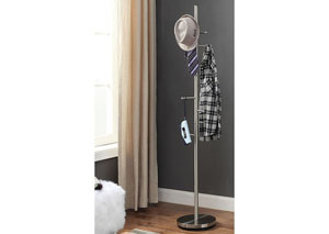 Kingman Chrome Coat Rack
