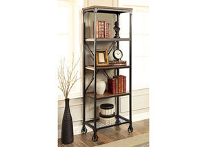 Ventura ll Oak Small Bookshelf