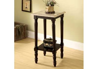 Santa Clarita Square 5-Tier Ladder Shelf Plant Stand w/Marble Top