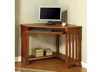 Toledo Brown Corner Desk