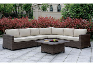 Bushnell Brown Sectional