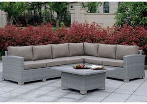 Bushnell Gray Sectional