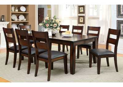 Dickinson l Extension Leaf Dining Table w/6 Side Chairs