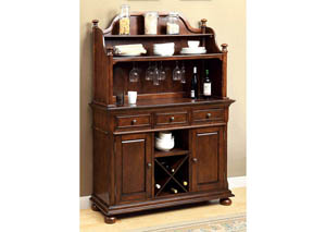 Descanso Brown Cherry Hutch Buffet