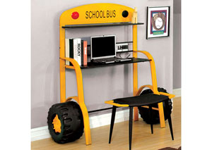 Field Tripper ll School Bus Desk w/Stool,Furniture of America