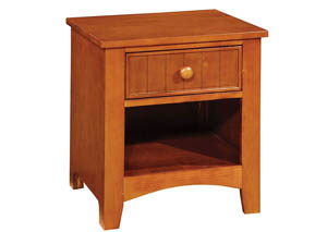 Omnus Oak Nightstand