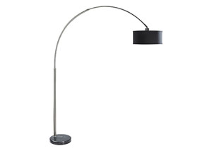 Scot 81' Black & Chrome Arch Lamp